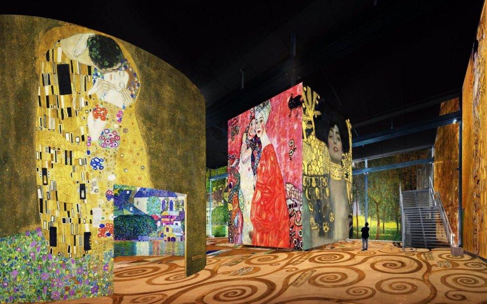 Klimt - Atelier des Lumières