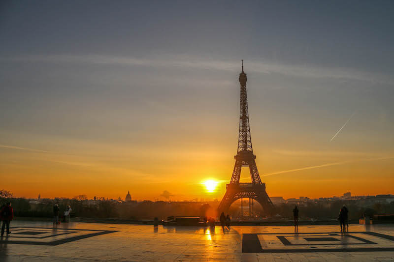 Trocadero-Sunrise-Paris