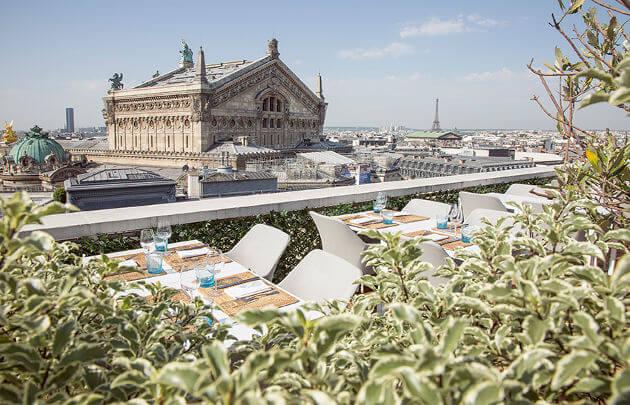 La Terrasse Galeries Lafayette Paris