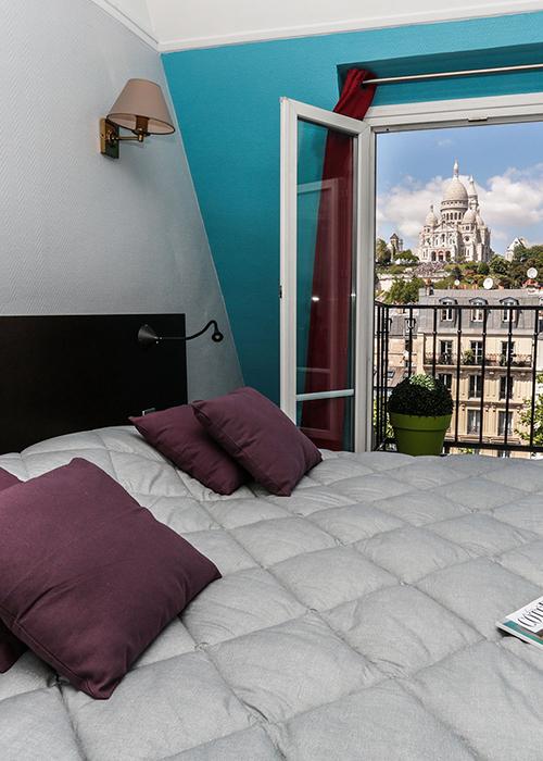 Regent Hostel Montmartre view
